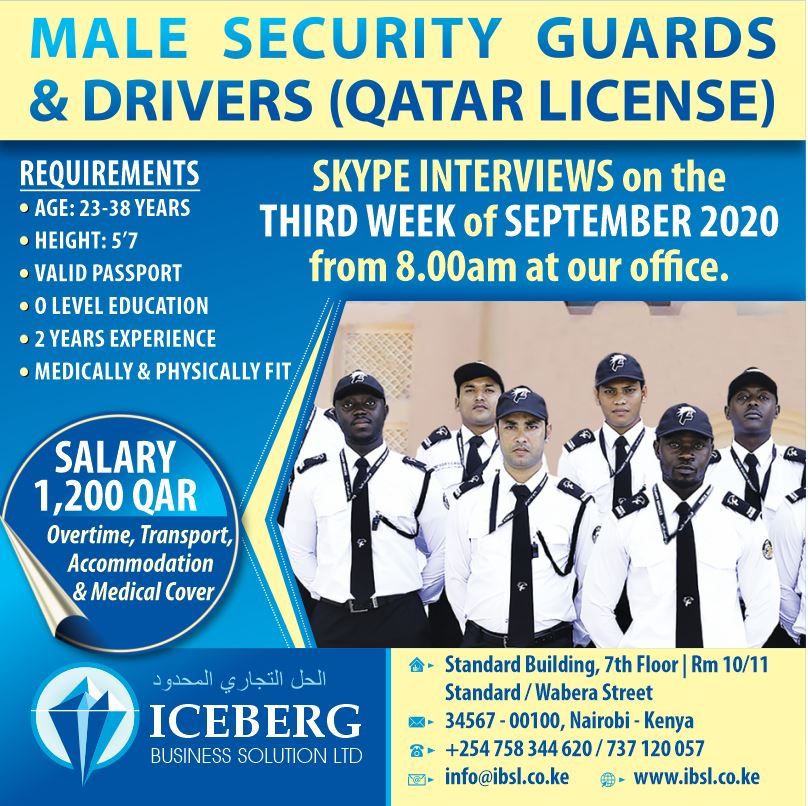 male guards & drivers